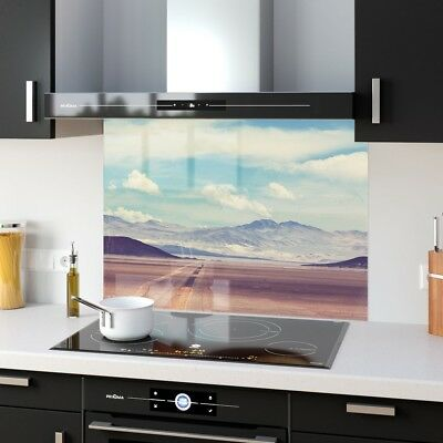 Kitchen Splashback Toughened New Glass Heat Resistant Motorway 39645155 90x65cm