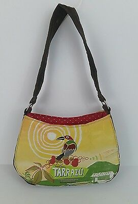 Rare Bag Purse Handmade Vintage Starbucks Recycled One of a kind