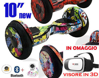 HOVERBOARD 10 pollici Smart Balance Scooter Elettrico Overboard  Bluetooth