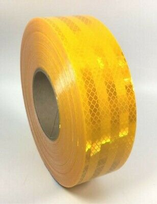 """3M 983-71 Series Yellow School Bus Conspicuity Reflective Tape 67885 2"""" x 150'"""