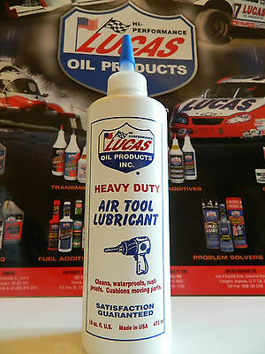 Lucas Air Tool Oil Lubricant, Heavy Duty air tool lubricant keep it alive !