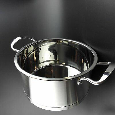 Big Sale-Topoko High Quality Stainless Steel 4-quart Saucepot - Perfect Family
