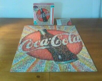 2011 Photomosaics 1000 Pc Complete Collectable Coca-Cola Puzzle Soda, Pop