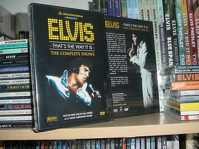 Elvis Presley: The Complete Shows (DVD Set 6hr) That's The Way It Is (5.1 Dolby)