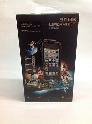 100% Authentic Lifeproof Armband for Lifeproof iPhone 5/5S/SE Case (Black)