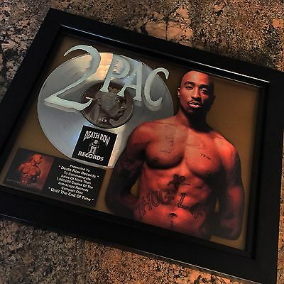 Tupac Shakur 2Pac Platinum Record Disc Album Music Award MTV Grammy Jay Z RIAA