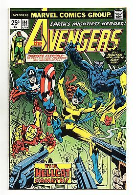 Avengers Vol 1 No 144 Feb 1976 (VFN) Marvel, Bronze Age, 1st app of Hellcat