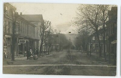 RPPC Stores, 2nd Street NEWPORT PA Perry County Pennsylvania Real Photo Postcard
