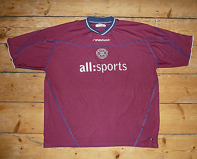 size:3XL Heart Of Midlothian hearts football shirt soccer jersey Jambos 2002-03