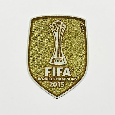 Fc Barcelona FIFA WCC World Champions 2015 Sporting ID Patch for Shirt Jersey
