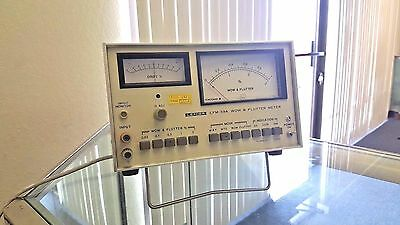 Leader LFM-39A Wow and Flutter Meter @00B