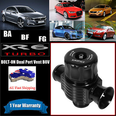 New Dual Port Blow Off Valve DIRECT BOLT ON XR6 Turbo BA BF FG BOV Dump 25mm FPR