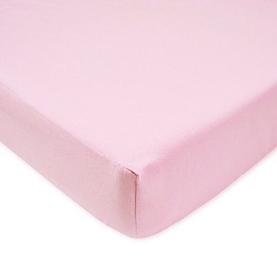 American Baby Company 100% Cotton Percale Fitted Crib Sheet, Pink
