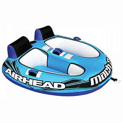 Airhead Mach 2 Towable Water Ski Tube Inflatable Biscuit Boat Ride