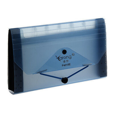 Generic F4018E Expanding 13 Pocket File Coupon Accordion Organizer Folder L V5R7