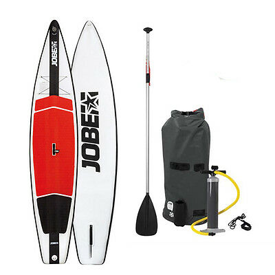 """Jobe Aero Race Inflatable Easy to Transport 12'6"""" SUP Stand Up Paddle Board"""