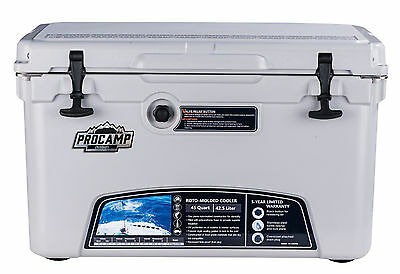 Ice Chest Cooler, 45 Qt. PROCAMP Outdoors, Brand New, HEVY DUTY COOLER