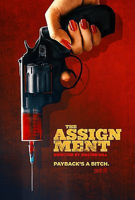 The Assignment Poster Walter Hill Michelle Rodriguez Sigourney Weaver