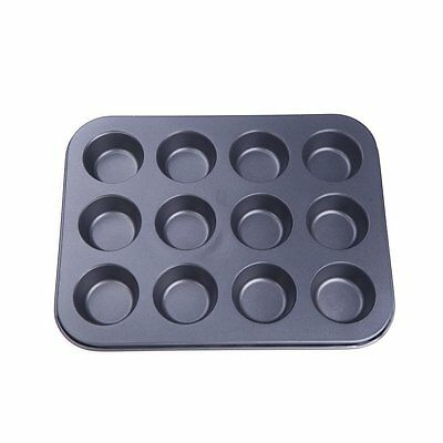 12 in 1 cake mold / muffin / cupcake cup shaped  baking mold  washed by rob P8P4