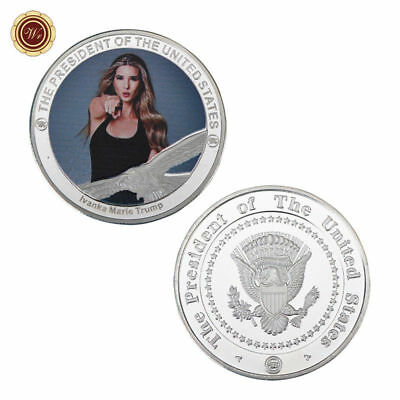WR US Ivanka Trump Silver Rare Most Commemorative Foreign Coin Values Collection