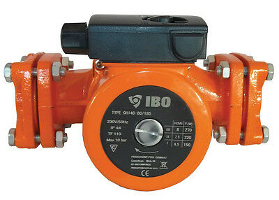 IBO OHI 40-80/200 Hot Water Circulation Pump Central Heating replaces Grundfos