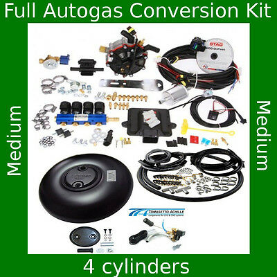 Total Autogas Conversion kit 4 cylinders STAG 200 GoFast 110 kW/150 HP LPG KA