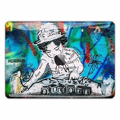Macbook Pro Air 13 15 Skins case Sticker Decal vinyl Banksy Graffiti Art FSM122