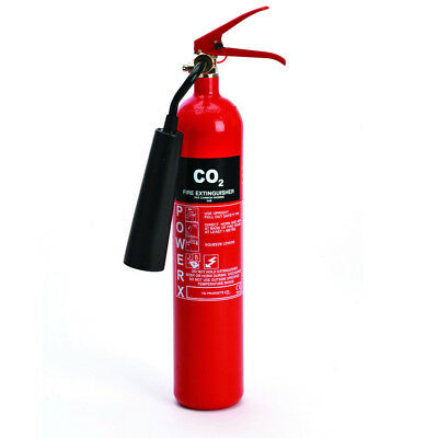 New Premium-2kg CO2 Fire Extinguisher-Carbon Dioxide-Class B & Electrical Fires