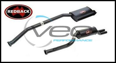 "Ford Falcon Au 6Cyl 4.0L Ute Redback 2 1/2"" Cat Back Exhaust With Dual R/muffler"