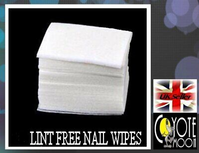 200 Lint Free Soft Nail Wipes,Pads Nail Art