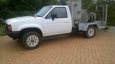 Mobile Sand Blaster mounted on Nissan 4whl drive