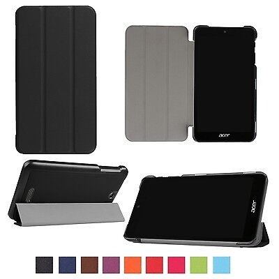 Stand Thin Slim Pu Leather Fold Case Cover For Acer Iconia One 7 B1-780 7 Tablet
