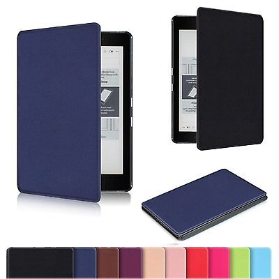 Flip Smart Leather Ultra Slim Case Cover For 6 inch Kobo Aura Edition 2 eReader