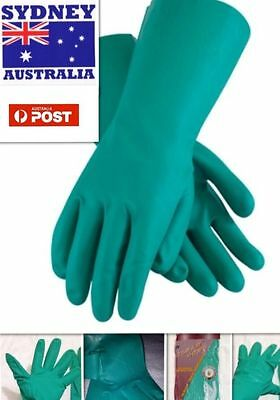 2x Pairs Rubber Latex Glove Var Size Extra Large Tough Strong Multi Purpose NEW