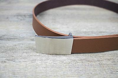 Boys and Baby's Formal Brown Tan Brown Leather Belt | Weddings and Formals |