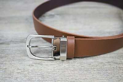 Boys and Baby's Formal Brown / Tan Brown Leather Belt | Weddings and Formals |