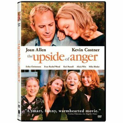 The Upside Of Anger On DVD With Joan Allen Comedy Very Good E74