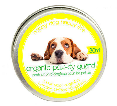 Organic Paw-dy-guard Balm Made from Organic Natural Ingredients in Norfolk UK