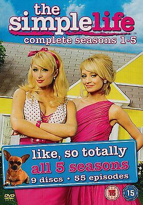 The Simple Life - Complete Seasons 1-5 [DVD] Brand New 5039036042499