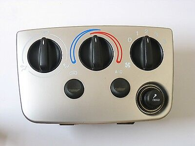 Ford Puma heater control panel silver with air con and 12v XS6H-19A522-AA