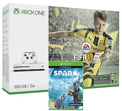 Xbox One S 500Gb + Fifa 17 + Project Spark - Xbox One - Console 4K Uhd