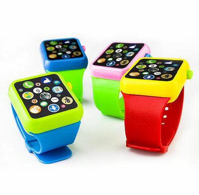 HOT Fun Cute Projection Wrist Watch Kids Children Baby Educational Toy Gift
