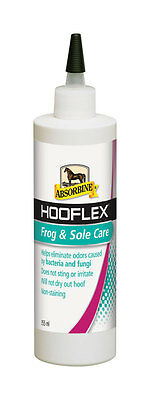 Absorbine HOOFLEX FROG & SOLE CARE Disinfects Thrush Elimates Odour 355ml