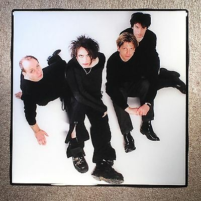 THE CURE Band Photo Coaster Ceramic Tile - Robert Smith