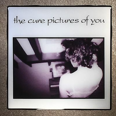 THE CURE Pictures Of You Coaster Ceramic Tile Record Cover 1990 - Robert Smith