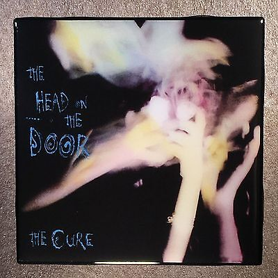 THE CURE Head On The Door Coaster Ceramic Tile Record Cover 1985 - Robert Smith