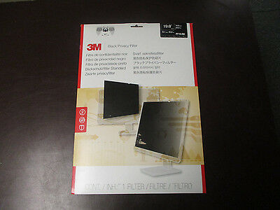 "3M Pf19.0W Black Privacy Filter 19"" Widescreen Lcd Privacy Filter"