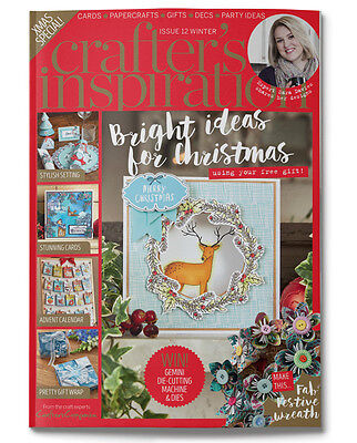 Crafters Companion - CRAFTERS INSPIRATION - Issue 12 Winter Edition FREE UK P&P