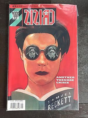 CRISIS #43 The New Adventures of Hitler Grant Morrison UK Comic Book 2000AD