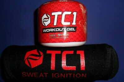 TC1 SWEAT Waist Belt +TC1 Sweat Gel 6.5 oz